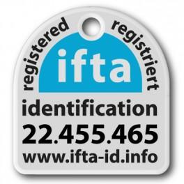 Identifikations-Plakette